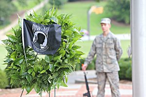 Clemson holds event, vigil for  POW/MIA Remembrance Day