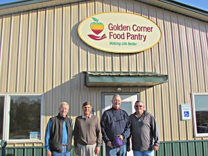 Golden Corner Food Pantry unveils new sign, message | Test