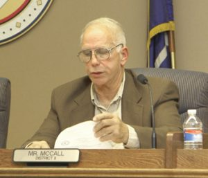 McCall unanimous pick for council chair | Test