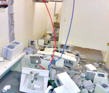 Inmate labor to repair damage at Walhalla pool