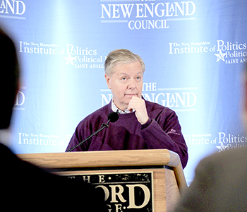 Graham tests waters in NH | Test