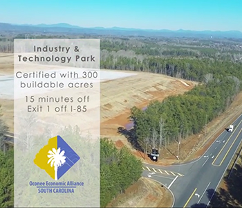 Oconee uses drone video to promote industry park | Test