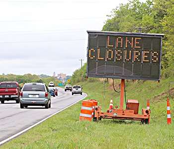 'Exit' lane off 123 to 93 set to close | Test