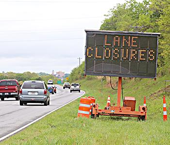 'Exit' lane off 123 to 93 set to close