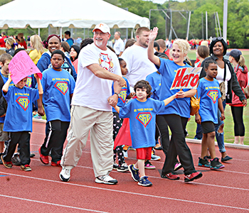 Athletes give their all in annual Area 13 Special Olympics