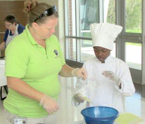 Pickens County's Future Chefs compete   Test