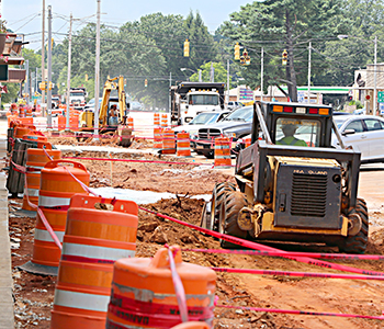 Walhalla streetscape construction playing catch-up | Test