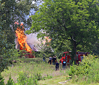 Keowee FD responds to dynamite at shed in Seneca   Test