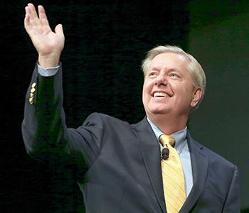 Lindsey Graham settles for 'Happy Hour debate' | Test