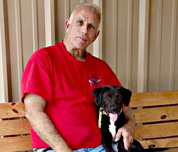 McCall adopts dog from Humane Society | Test