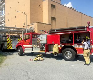 Fire at Central plant contained to machine | Test