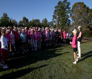 Think P.I.N.K.: Lady golfers hit the links to raise thousands for breast cancer | Test
