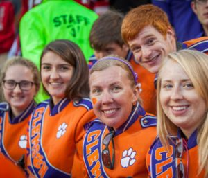 Clemson student living out lifelong dream in Tiger Band at 41 | Test