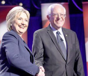 Hillary supporters in Oconee like Bernie, too