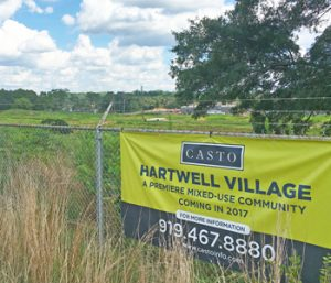 First Hartwell Village tenants revealed