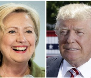 Clinton and Trump by the issues | Test
