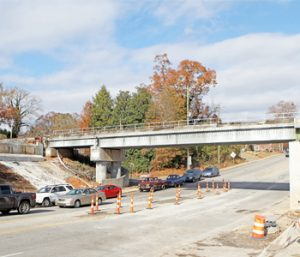 Bridge project showing signs of progress