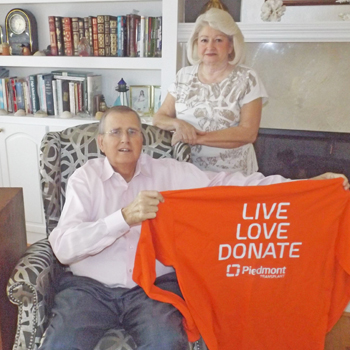 Recipient of liver transplant encourages organ donation | Test