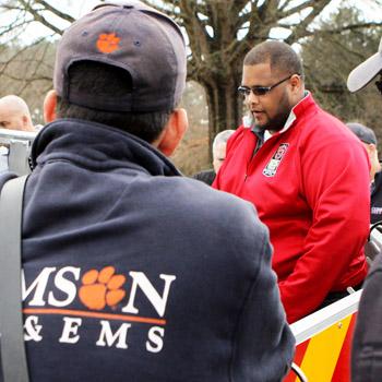 Clemson, university get new ladder truck