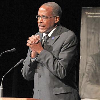 Speaker calls togetherness 'an unenforceable obligation' at Clemson University MLK event   Test