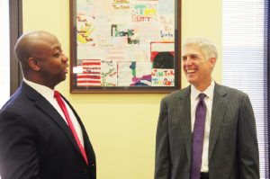 Tim Scott meets with Supreme Court nominee