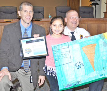 Students receive awards in Tornado Safety Poster Contest | Test