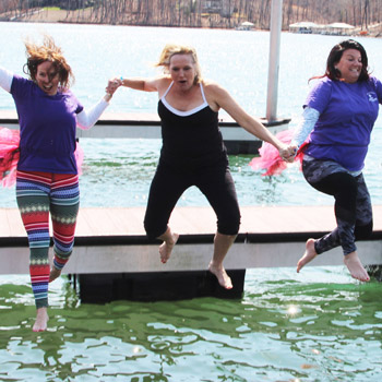 Taking the Polar Bear Plunge | Test