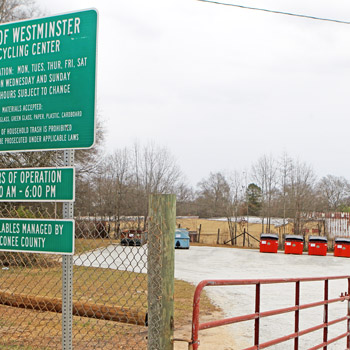 Westminster has county's newest recycling center | Test