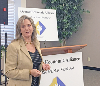 Hayes talks car manufacturing, workforce gap at business forum | Test