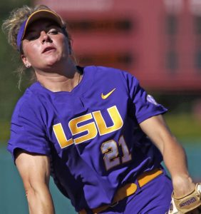 Daniel's Hoover pitches LSU to WCWS   Test
