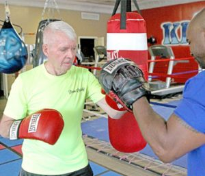 Man battling Parkinson's through boxing | Test