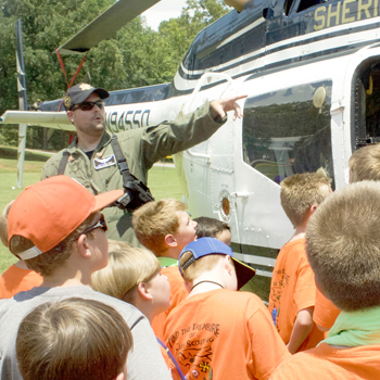 Local Scouts take part in annual camp
