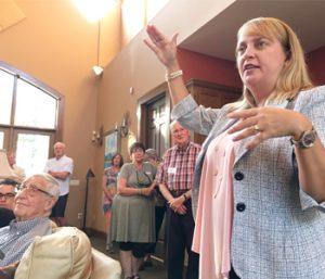 Geren speaks at Oconee Dems event | Test