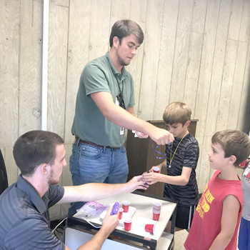 Kids go hands-on with science at World of Energy
