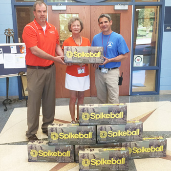 Clemson Elementary receives Spikeball sets | Test