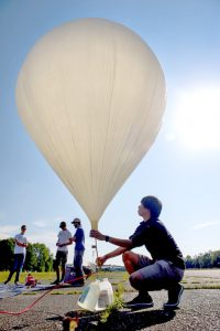 Weather balloons to provide 110,000-foot view of eclipse   Test