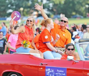 Clemson set for First Friday Parade | Test