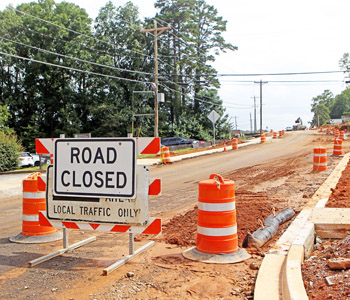 Contractor says Townville Street work won't be complete by start of school | Test