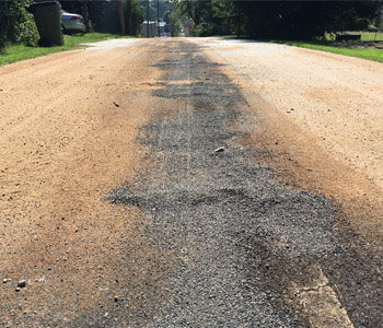 Hydraulic fluid leak closes roadways in Walhalla | Test