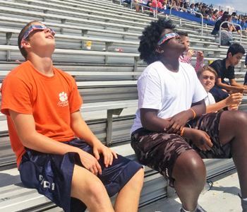 Students, teachers, administrators enjoy eclipse experience | Test