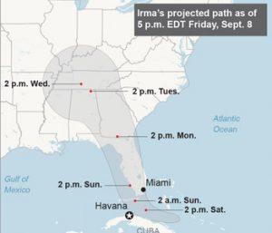Irma still unpredictable as landfall looms | Test