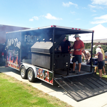 Foothills Community Church uses grill trailer to reach out to leaders | Test
