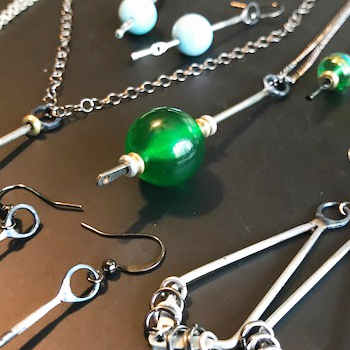 Local meteorologist makes weather-inspired jewelry | Test