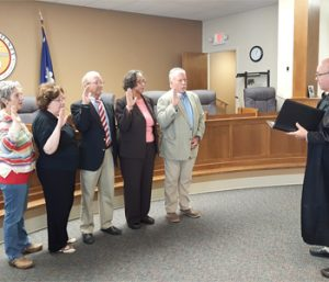 Elections board members sworn in | Test