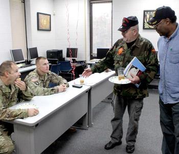 Voc Rehab welcomes veterans | Test