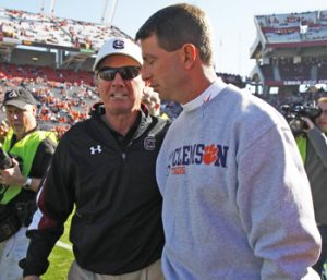 Swinney praises both Spurrier, Muschamp | Test