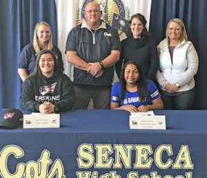 Seneca first basemen sign with colleges | Test