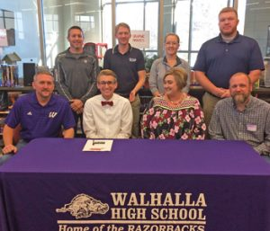 Walhalla runner Holcombe signs with NGU | Test