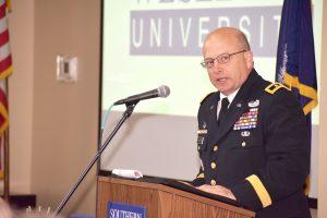 Adjutant general speaks at SWU military appreciation event | Test