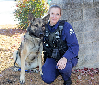 Clemson PD has new K-9 officer | Test